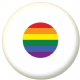 Japan Gay Pride Flag 58mm Button Badge